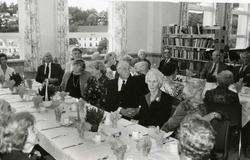Kragerø skole 100 år. Åpnet 22.08.1892. Gjester til jubileet