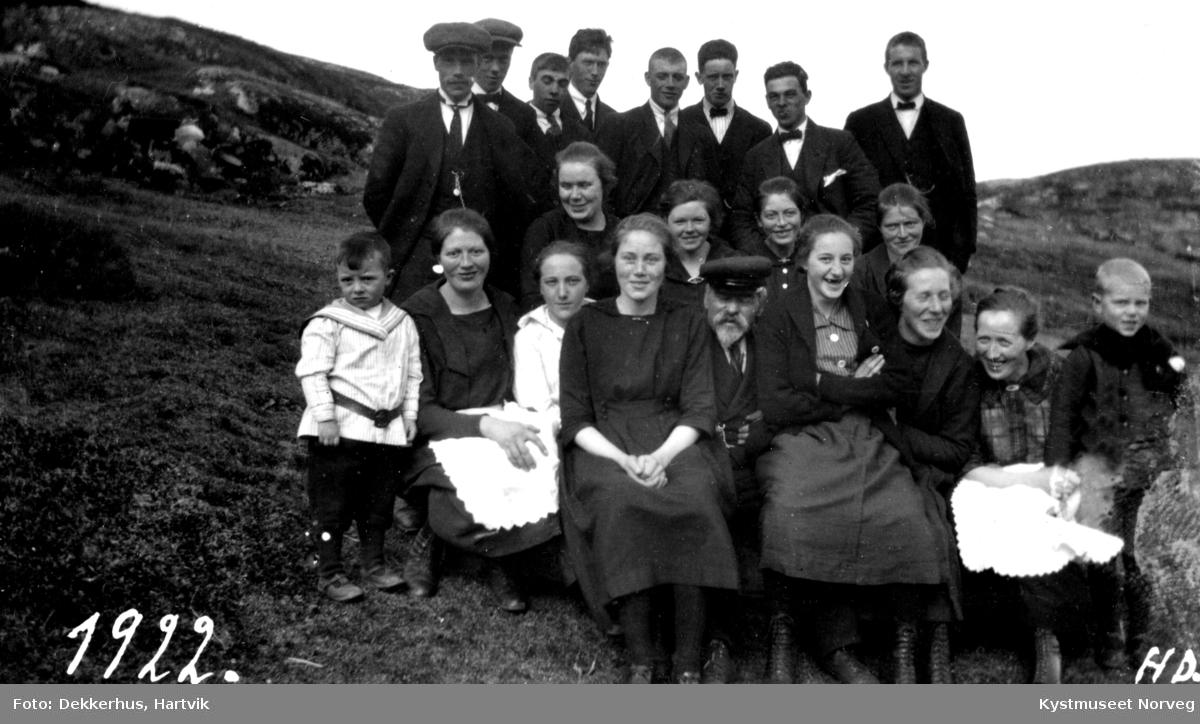 Gudrun Pedersdatter Ofstads begravelse, familie