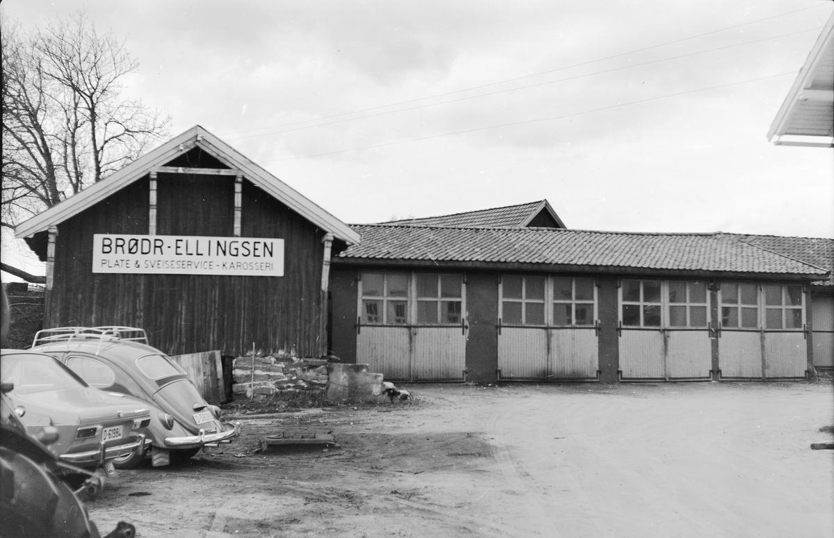 17. mai. Elverum.  1969. Brødr. Ellingsen.