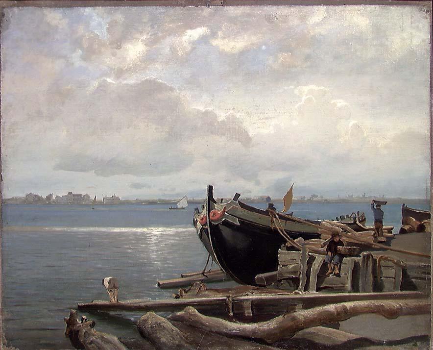 Fra Chioggia ved Venezia [Maleri]