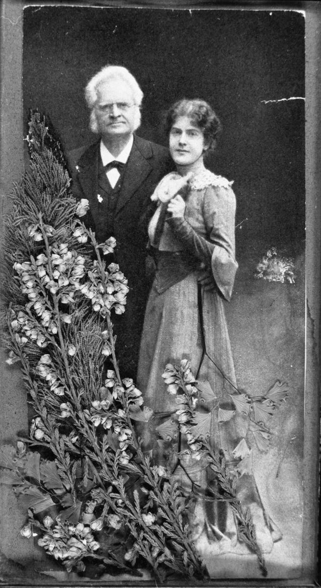 Bjørnson, Dagny, blomster, repro