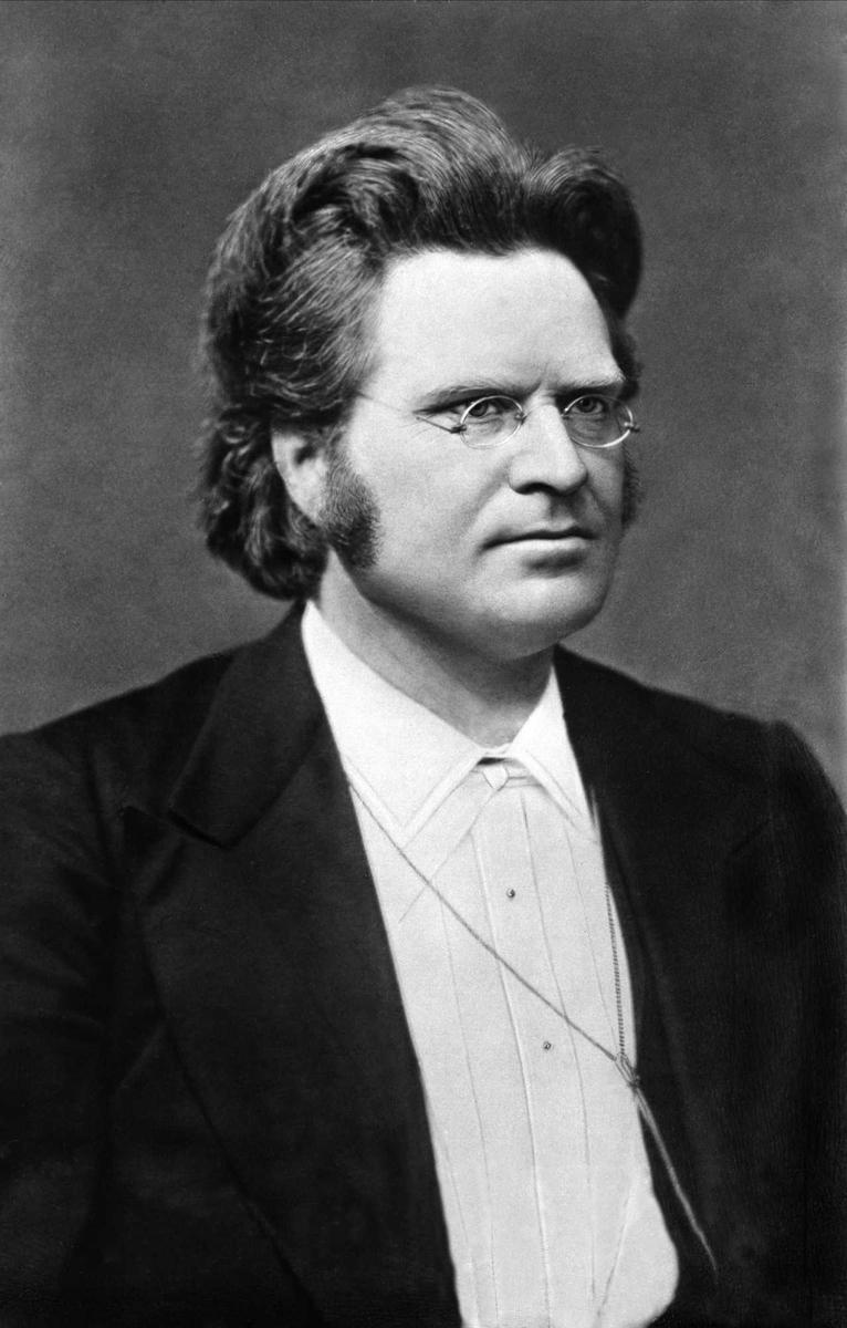 Bjørnson, portrett,