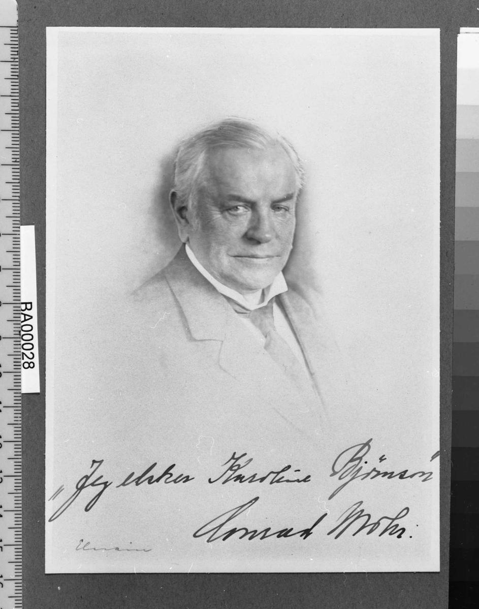 Conrad Mohr, portrett,