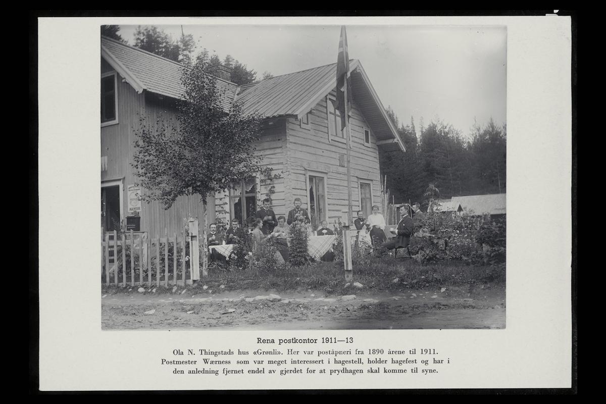 eksteriør, postkontor, 2450 Rena, postkasse,menn, kvinner