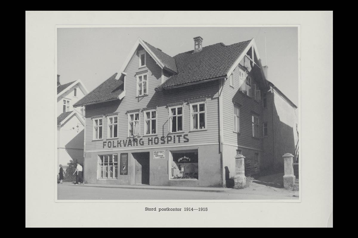 eksteriør, postkontor, 5400 Stord
