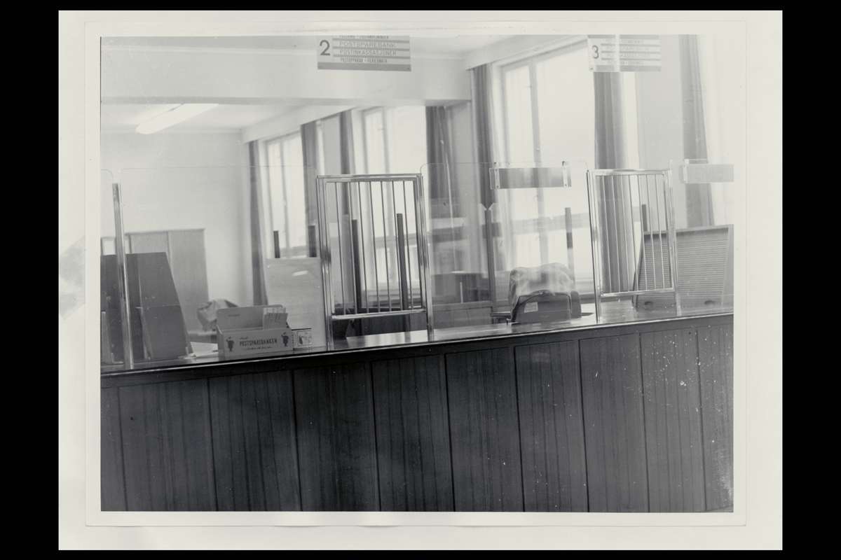 interiør, postkontor, 9750 Honningsvåg, publikumshall