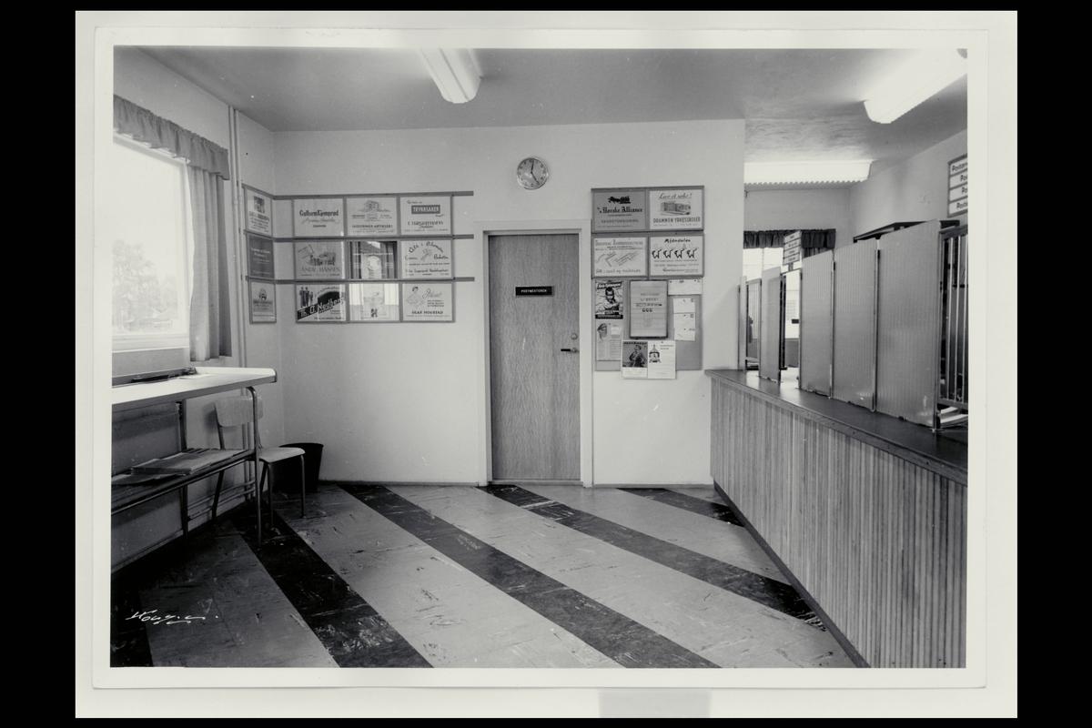 interiør, postkontor, 3050 Mjøndalen, publikumshall