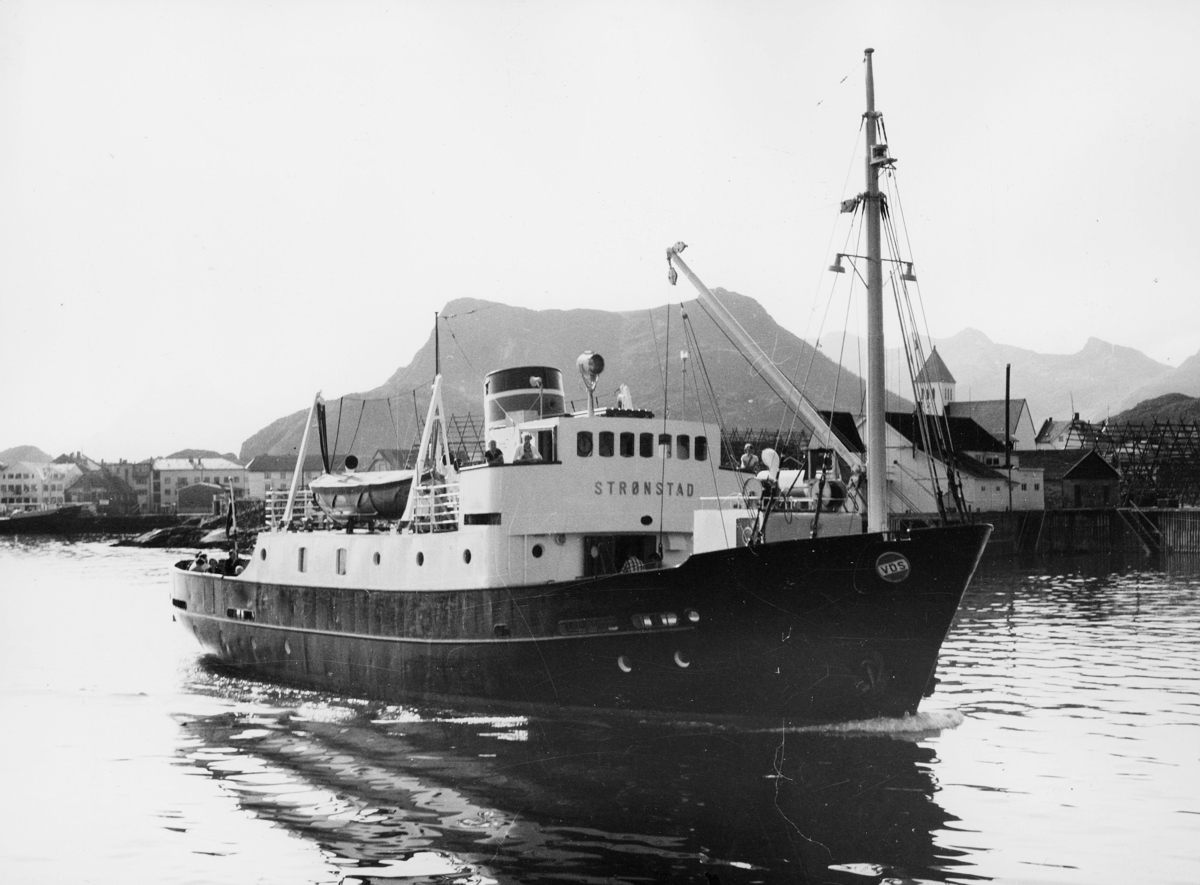 transport båt, eksteriør, M/S Strønstad