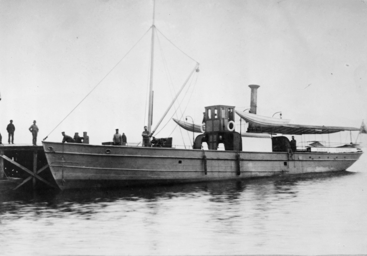transport båt, eksteriør, D.S. Harald Haarfager