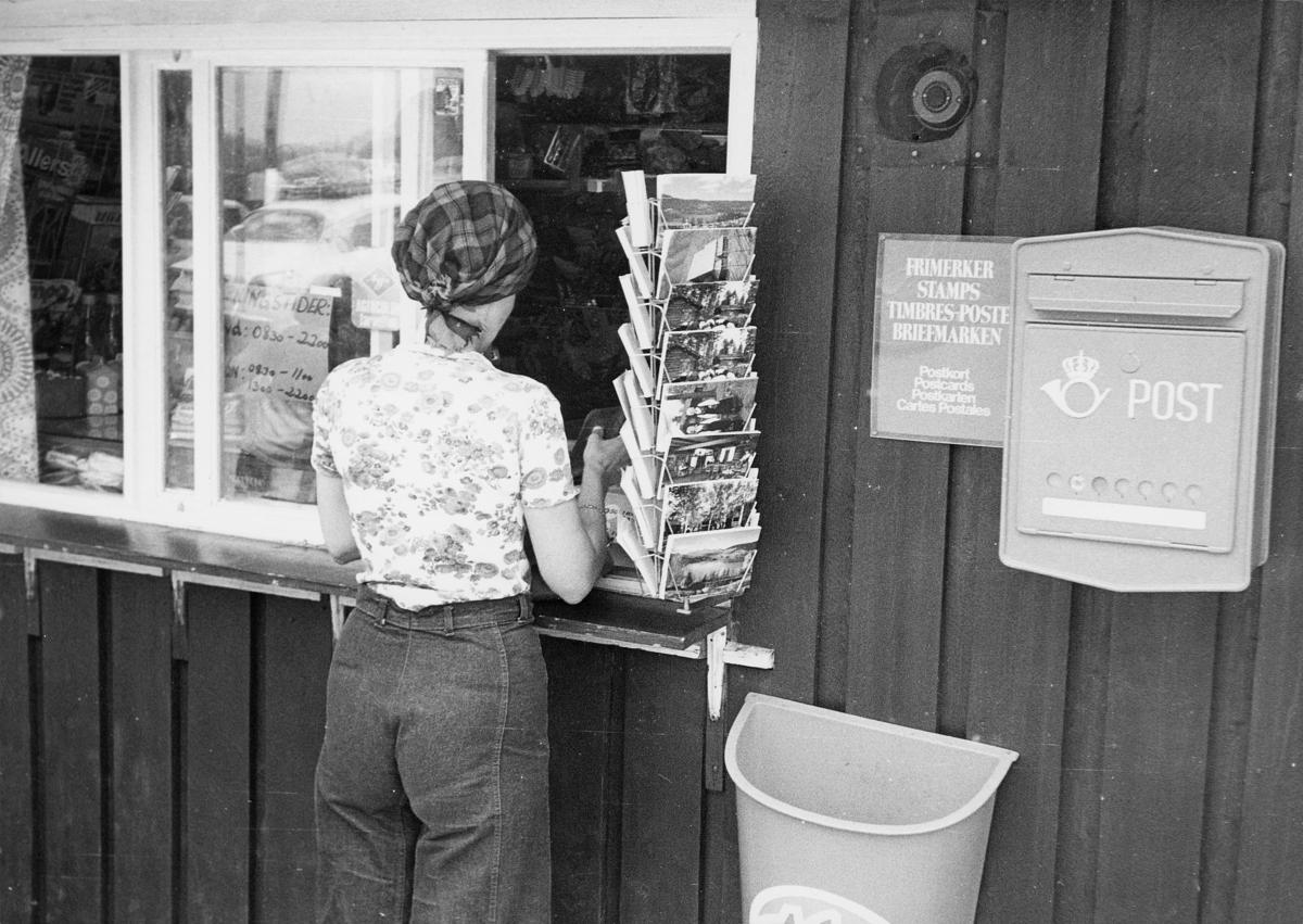 postkasser, offentlig, dame, kioskutsalg, eksteriør