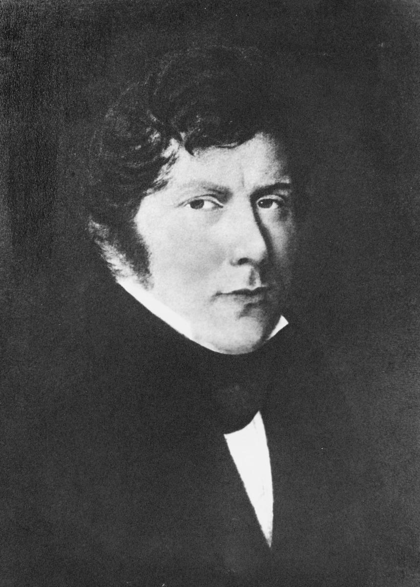 portrett, postmester, Frederik Michael Frantz Wilhelm Løvenskiold
