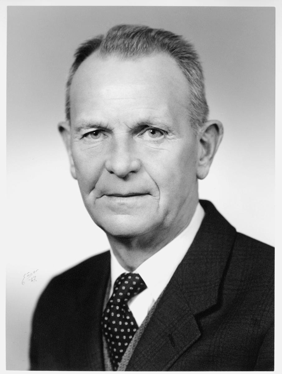 postmester, Carlsen Oscar Thorbjørn, portrett