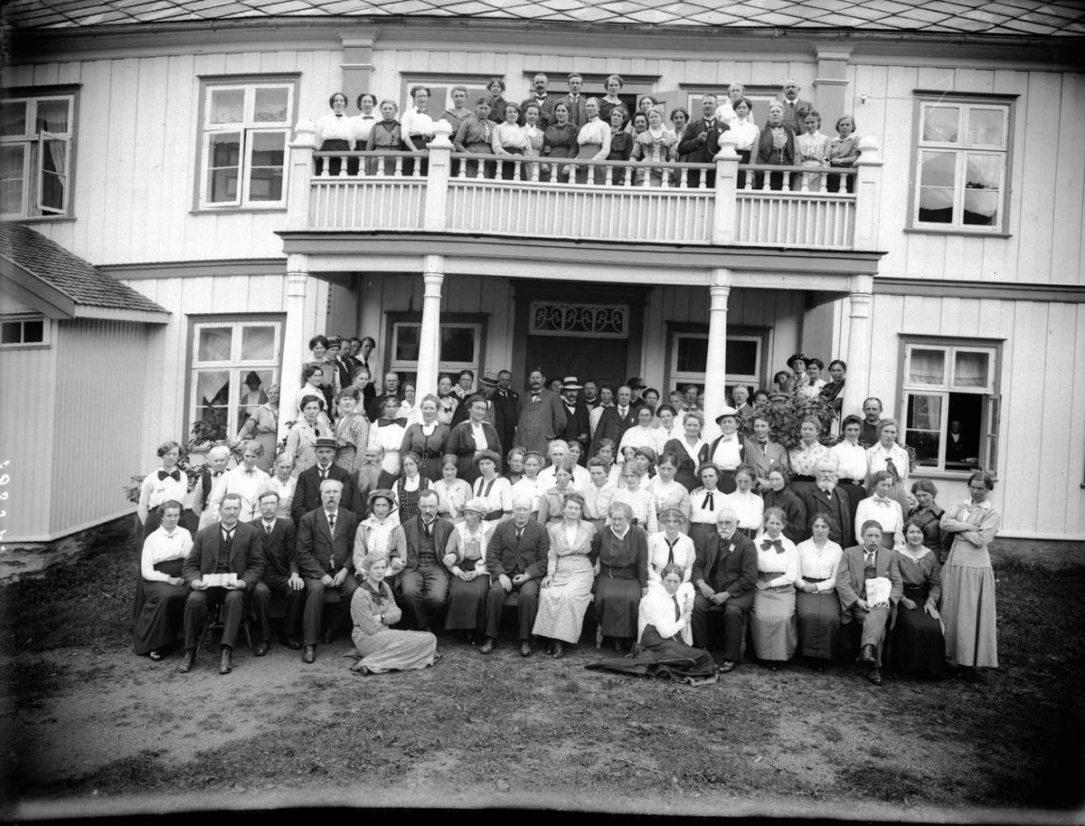 Det Nordiske lærerstevne, 3/8-1915. Sør-Fron, Hundorp
