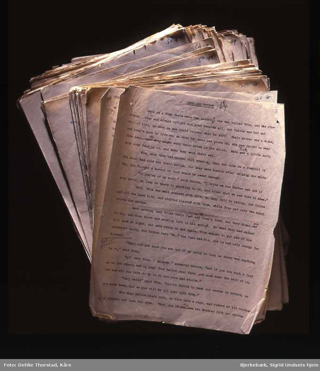 Manuskript,