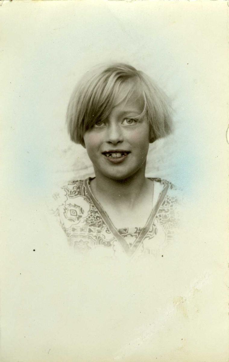 Jente, portrett