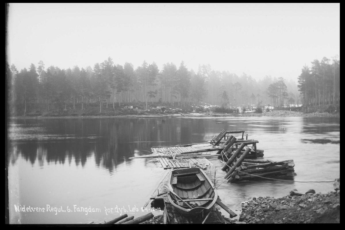 Arendal Fossekompani i begynnelsen av 1900-tallet CD merket 0474, Bilde: 44 Sted: ? Beskrivelse: Fangdam