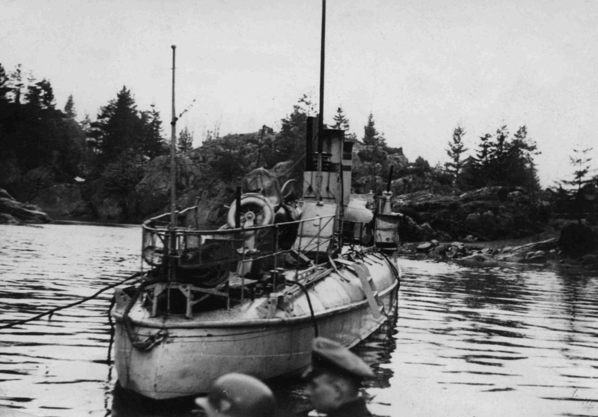 Torpedobåten Grib på Lyngør