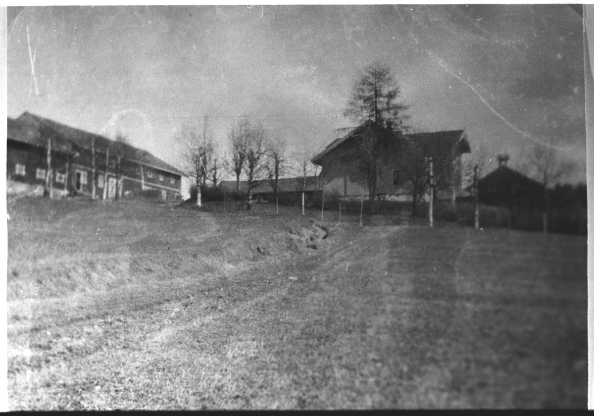 Haneborg Gård sett fra vest.