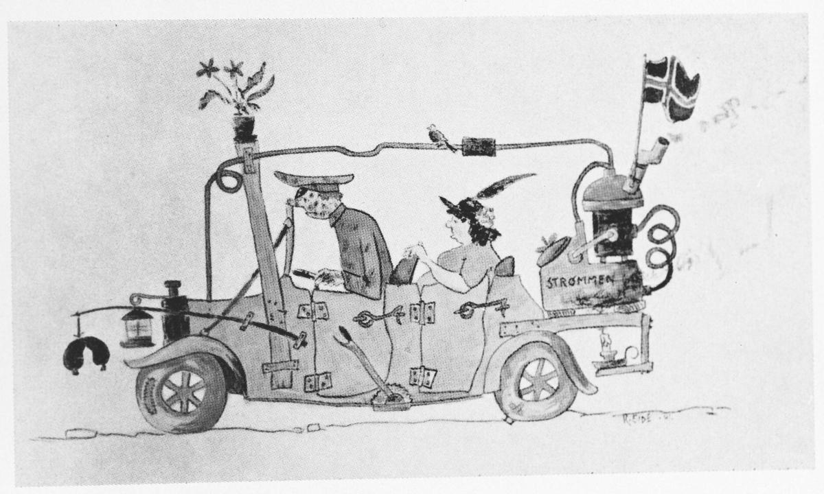 Bedriftsavisa Strømmens Værksted, 1965. Motorklubb.