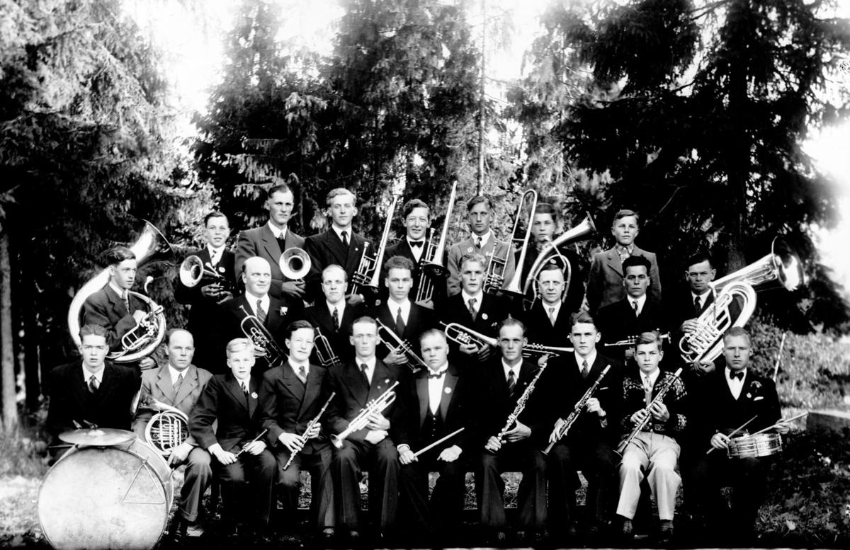 Kløfta Janitsjar 1942.