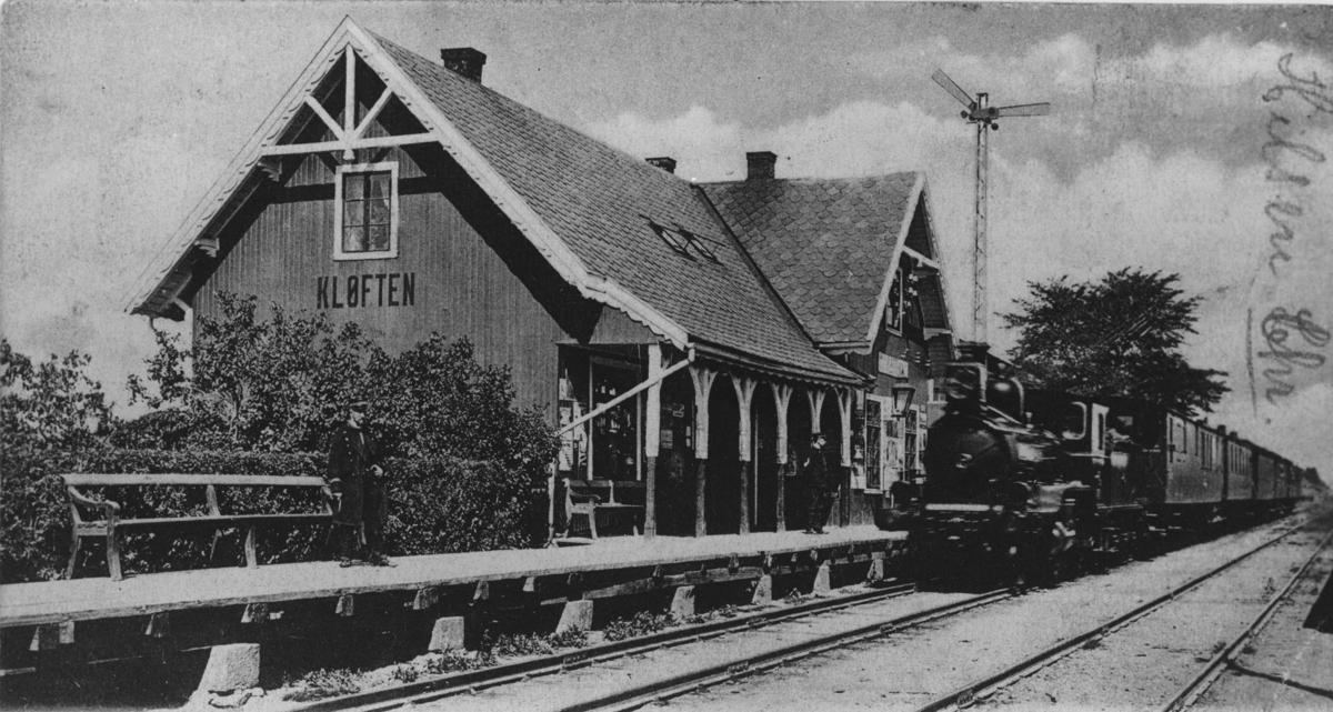Kløfta stasjon sett fra syd-øst