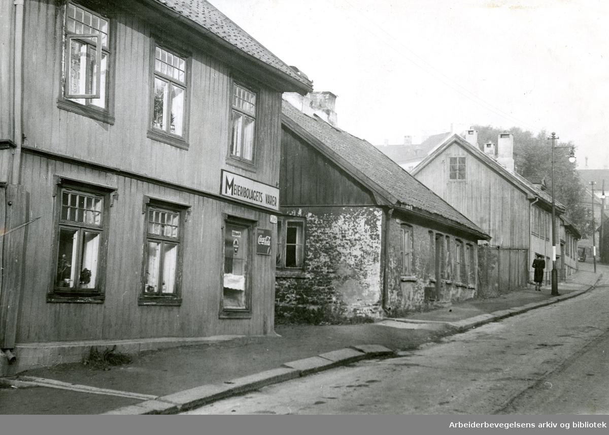 Maridalsveien 106 - Meieribolagets varer,.1935-39