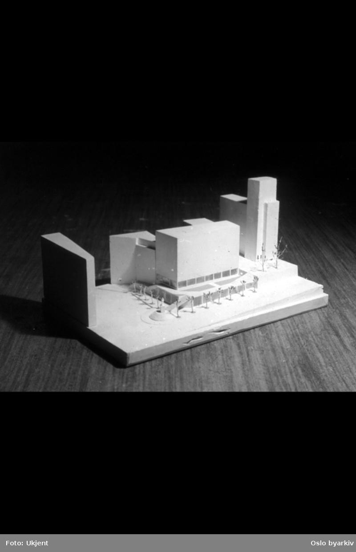 Modell Tordenskiolds plass, forslagg fra Ellefsen