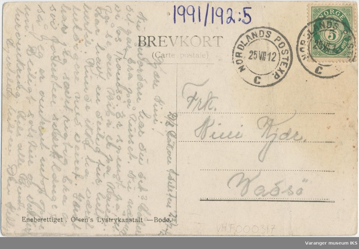 Postkort, Boris Gleb