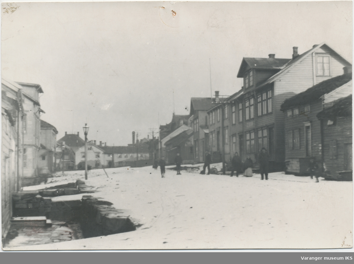 Kristian IVs gate sett mot sentrum