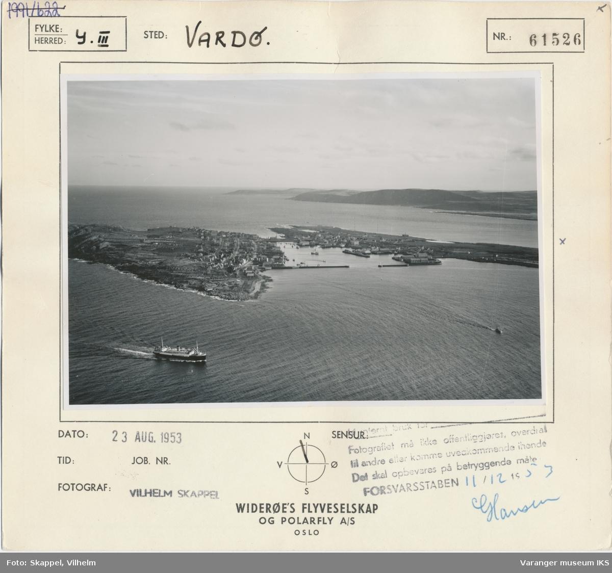Flyfoto, Vardø
