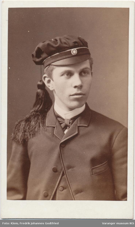 Portrett, Einar Nikolai Brodtkorb som russ