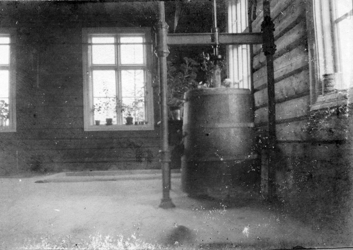 Kverndalen meieri, interiør