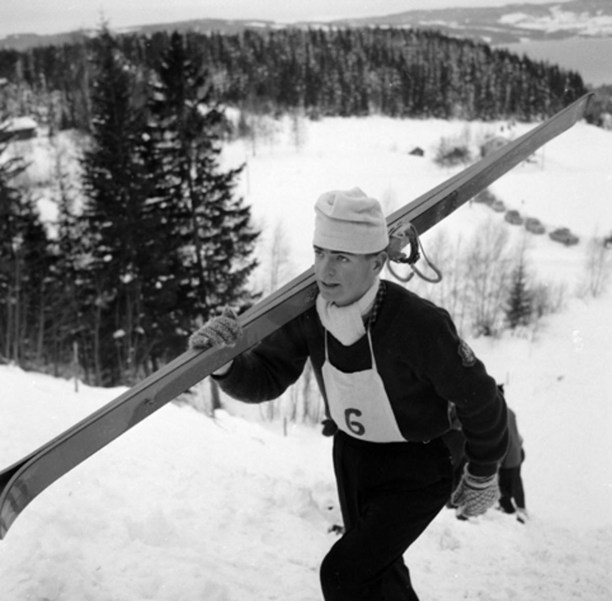 Arve Kristiansen fra Vang J. Født 1946, skihopper i Vikerkollen, Furuberget.