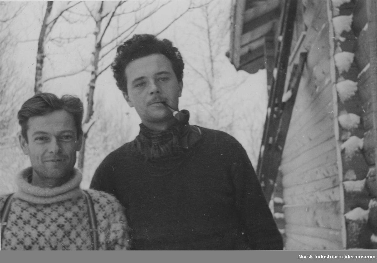 Thor Viten - Jens A Poulsson Møsstrand, desember 1944.