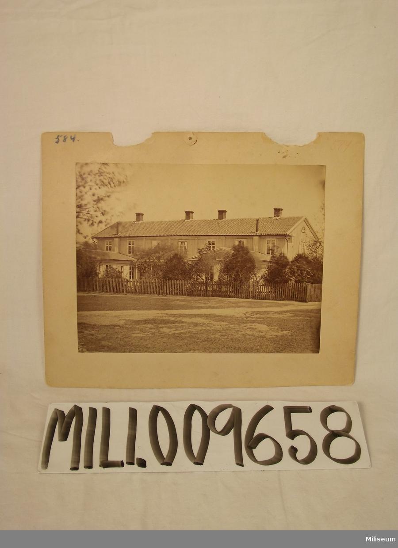 Fotografi av officersmässen i Skillingaryd.