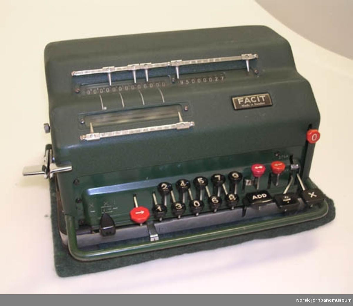 Kalkulator Facit NEA, elektrisk