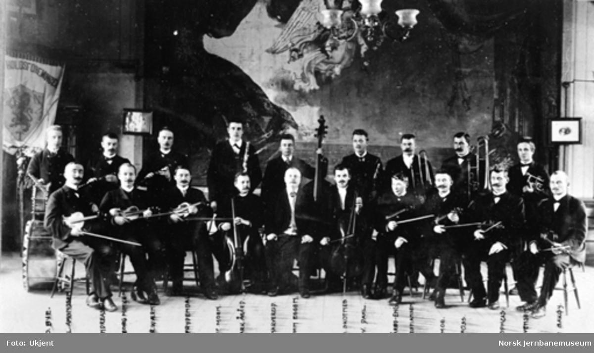 Jernbanemuseet på Disen : Bilde av Ofotbanens personales orkesterforening
