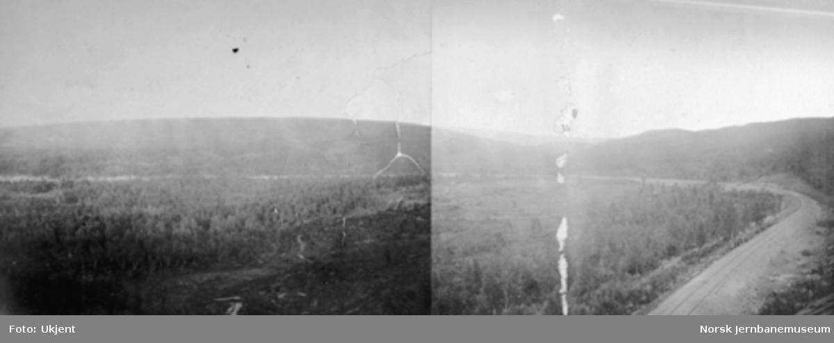 "Jernbanen mellom Rugldalen og Reitan; ""Sibirien"""