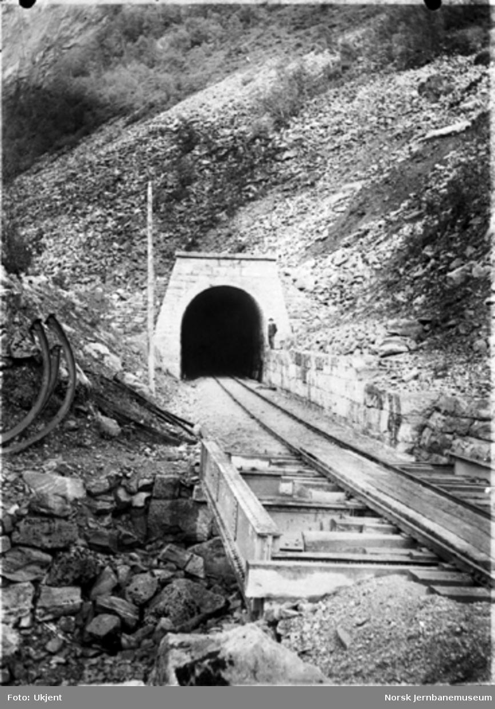 Overmuring ved Hyvinguren tunnel