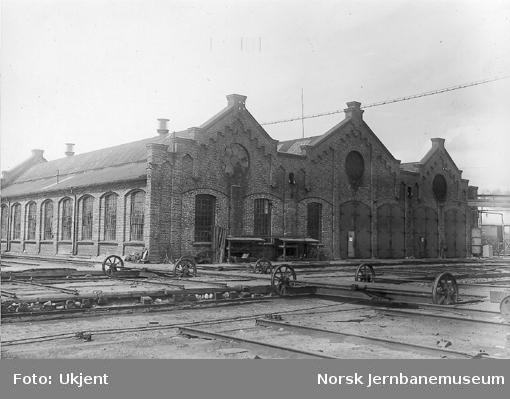 Vognrevisjons- og seilmakerverkstedet; senere presenningsverkstedet
