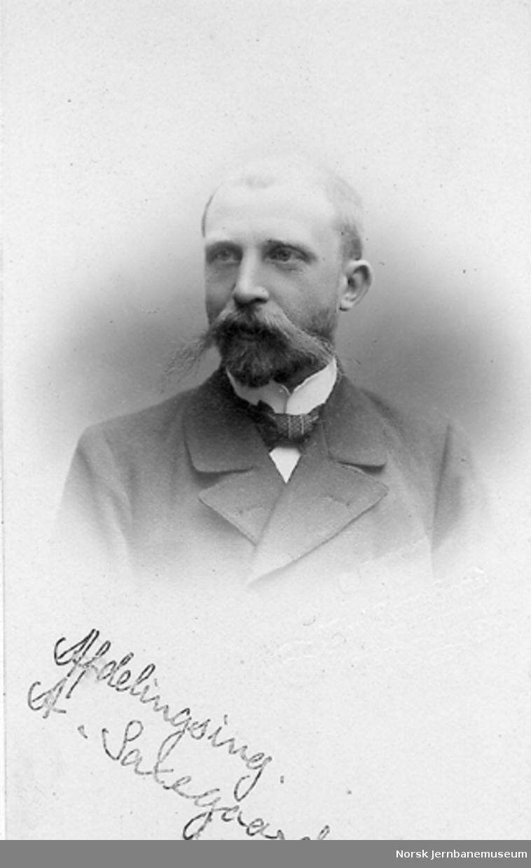 Portrett av avdelingsingeniør Andreas Saxegaard