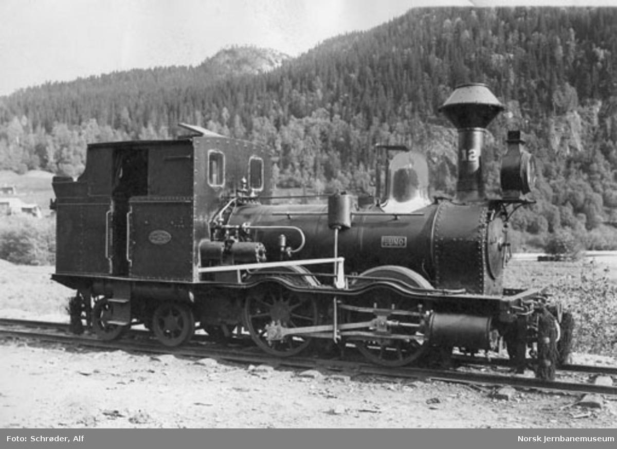 "Damplokomotiv type VI nr. 12 ""Juno"""