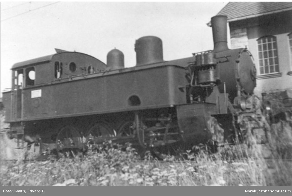 LKAB damplokomotiv nr. 10 i Narvik