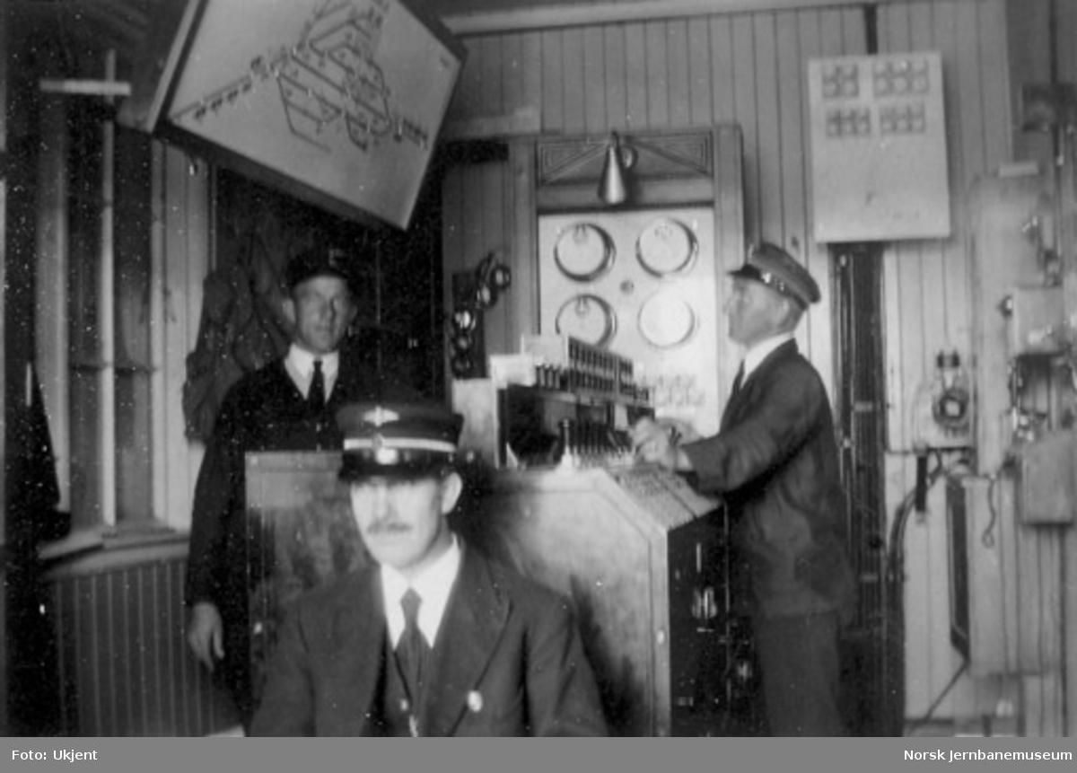 Stillverket på Asker stasjon