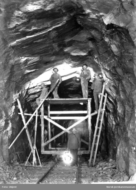 Utvidelse av Trollkonebarret tunnel ved Vossebanens ombygging