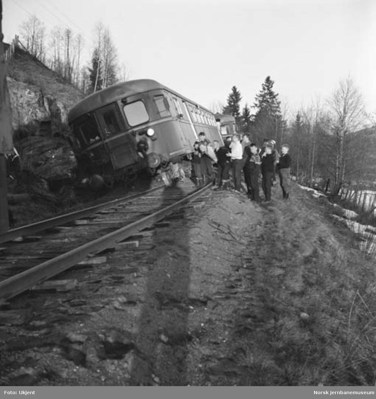 Togavsporing på Valdresbanen : motorvognsett type 86/91