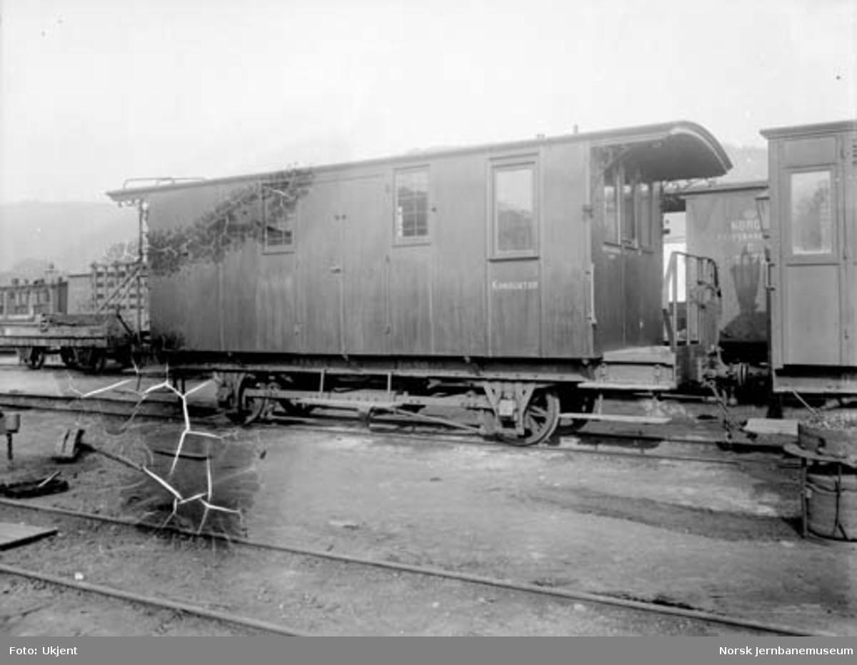 Drammenbanens konduktørvogn litra F nr. 30