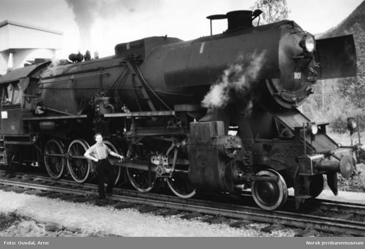 Damplokomotiv type 63a nr. 1101